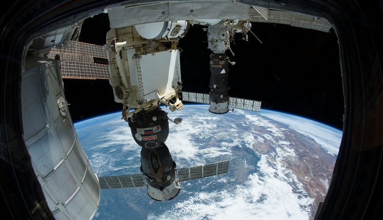 A nave russa Soyuz 37 (TMA-11M)