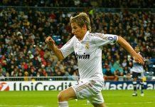 Fábio Coentrão, lateral esquerdo do Real Madrid