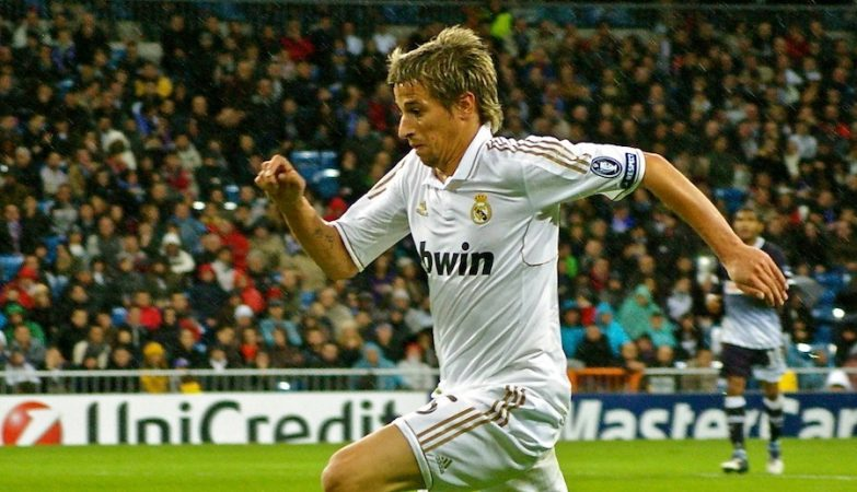 Fábio Coentrão, lateral esquerdo do Real Madrid