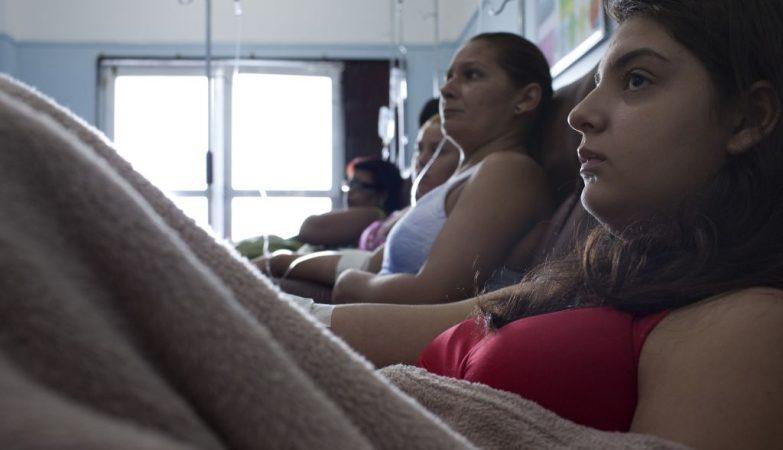 Pacientes com dengue no Rio de Janeiro