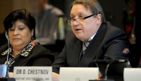 Oleg Chestnov, diretor-geral adjunto da OMS para as doenças não transmissíveis e a saúde mental.