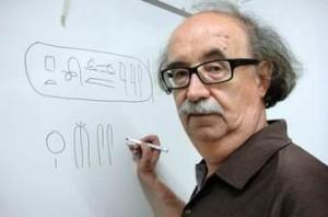 O egiptologista Josep Padro, da Universidade de Barcelona