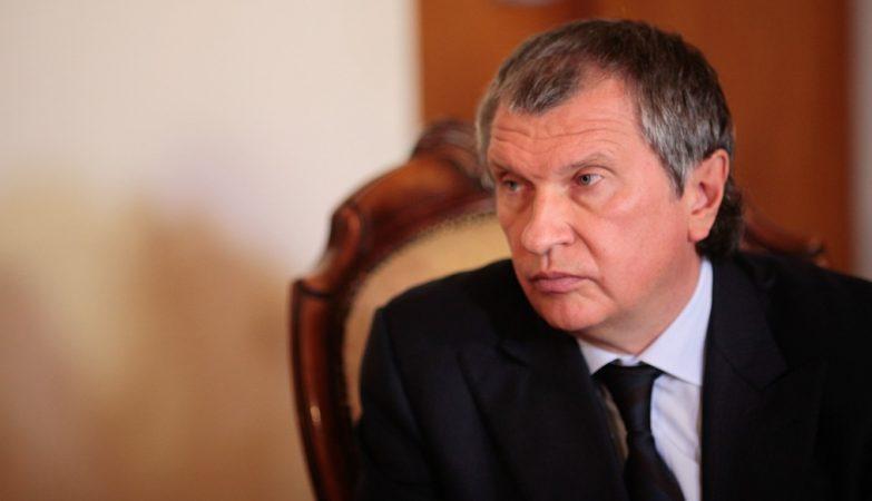 Igor Sechin, presidente da petrolífera estatal russa Rosneft