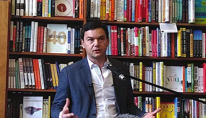 Thomas Piketty, professor na Paris School of Economics.