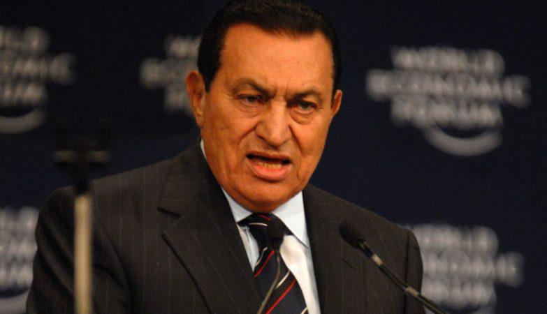Hosni Mubarak, ex-presidente egípcio