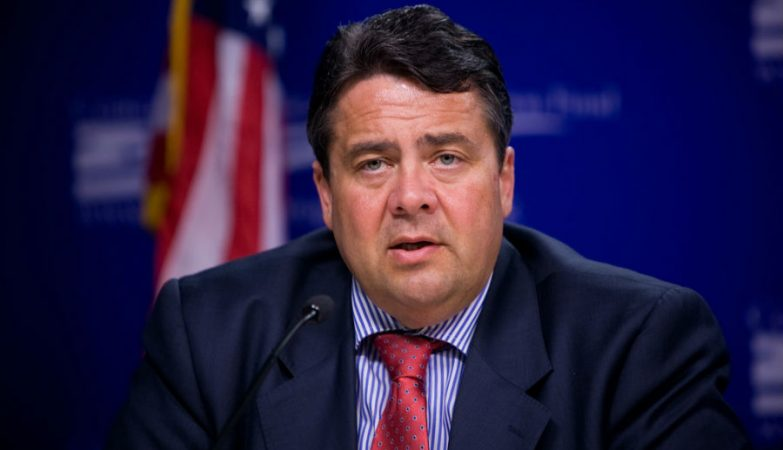 ;inistro da Economia e vice-chanceler alemão, Sigmar Gabriel