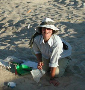 A egiptóloga Renee Friedman, arqueóloga da Universidade de Berkeley