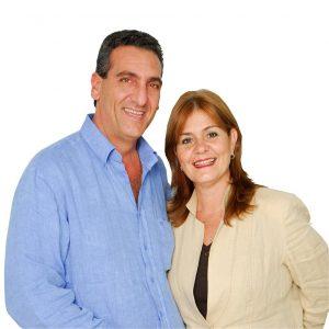 Enzo e Rosa Scarano: o autarca foi preso, a mulher concorreu e ganhou