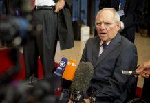 O ministro das Finanças da Alemanha, Wolfgang Schauble