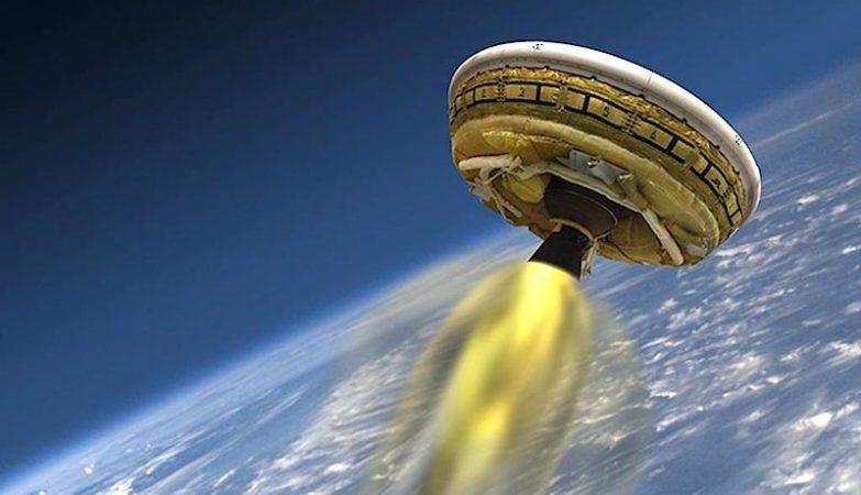 LDSD Rocket Test Vehicle 01: O Disco Voador da NASA