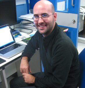 O paleontologista Arnau Bolet, da ICP