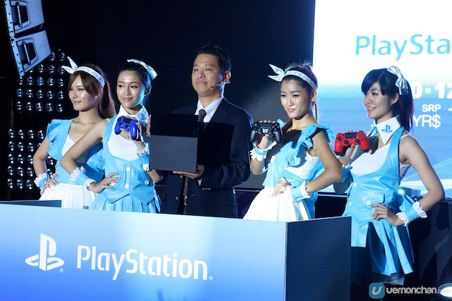 Lançamento da PlayStation 4 (PS4), da Sony, na Malásia
