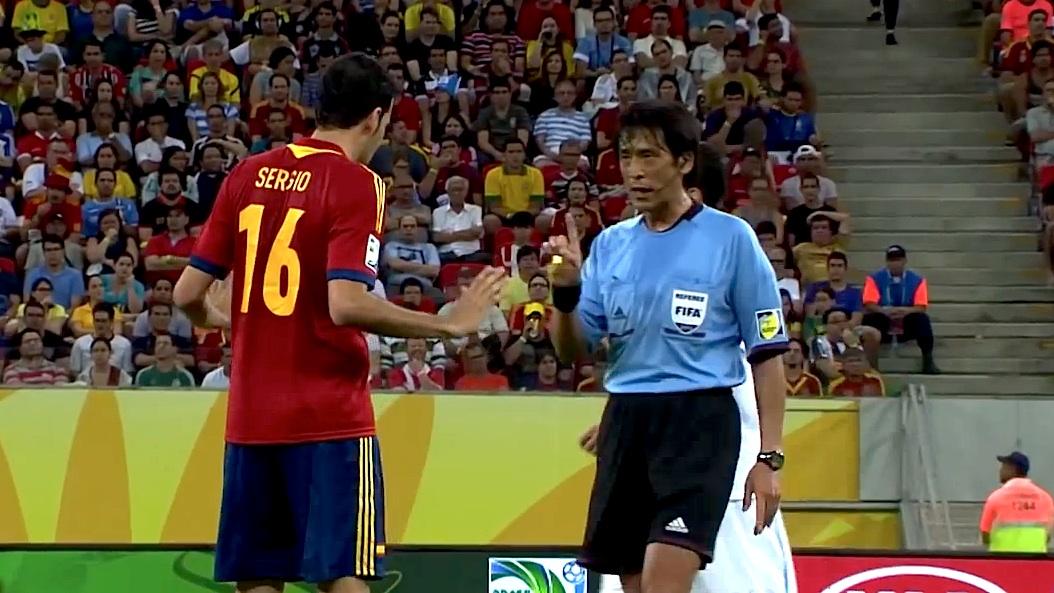 O japonês Yuichi Nishimura é o arbitro do jogo de abertura do Mundial2014,
