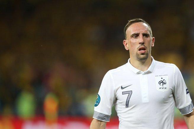 Franck Ribéry no Euro 2012