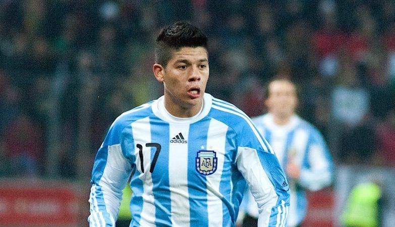 O central do Sporting e da selecção argentina, Marcos Rojo