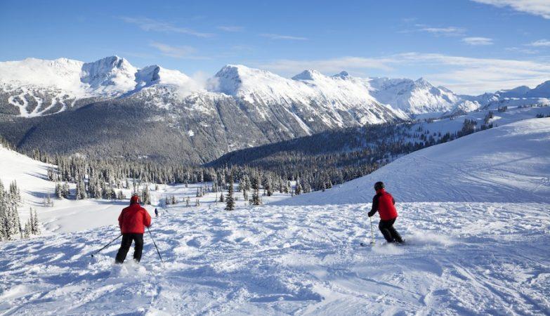 Esqui em Whistler (Canada)