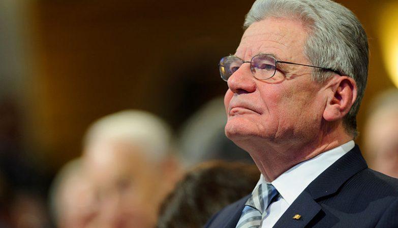 Joachim Gauck, presidente da Alemanha