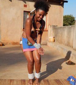 Vanessa Mutswari, estudante de recursos humanos, desmentiu a notícia de que tenha sido oferecida
