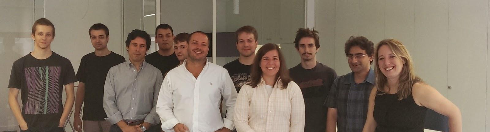 Álvaro Pinto com a equipa Aptoide
