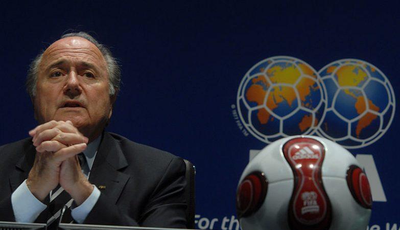 Presidente da FIFA, Joseph Sepp Blatter