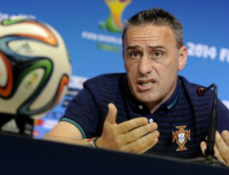 Paulo Bento, treinador da seleção nacional