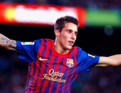 Cristian Tello, jogador do Barcelona emprestado ao FC Porto