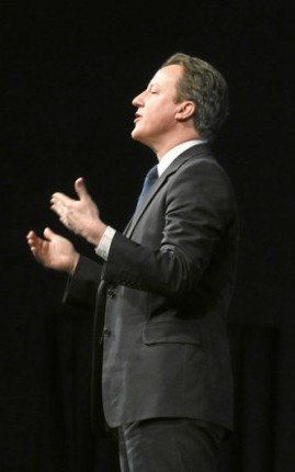 O primeiro-ministro britânico, David Cameron