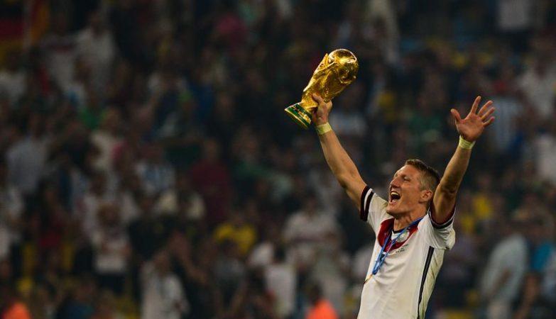 Bastian Schweinsteiger, jogador da seleção da Alemanha, campeã do Mundial 2014