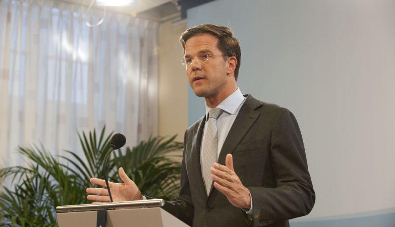 O primeiro ministro da Holanda, Mark Rutte