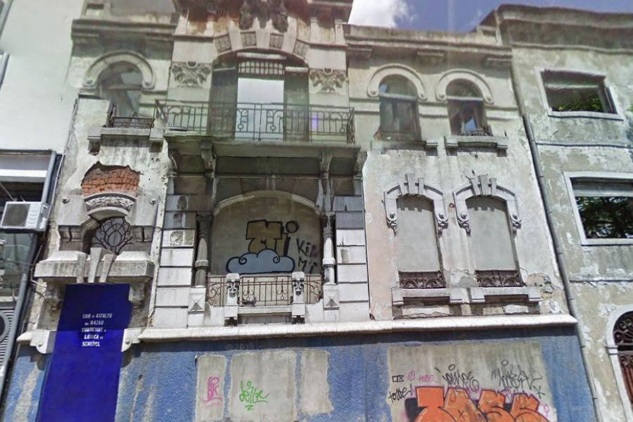 Casa onde Salazar viveu, na Rua Bernardo Lima, nr 64, em Lisboa