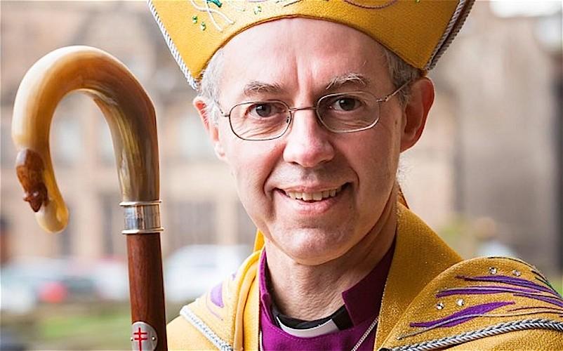 O Arcebispo de Canterbury, Justin Welby
