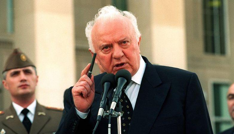 Eduard Shevardnadze, antigo presidente da Geórgia