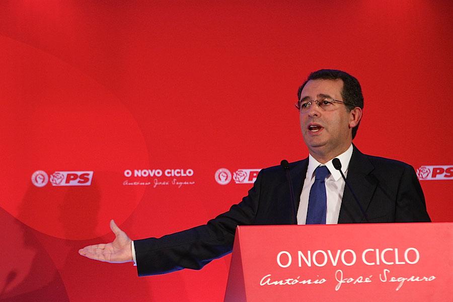 O líder do PS, António José Seguro