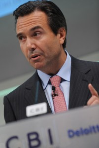 """O presidente executivo do Lloyds Bank, o """"super-gestor"""" português António Horta Osório"""
