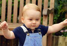 Sua Alteza Real Príncipe George de Cambridge