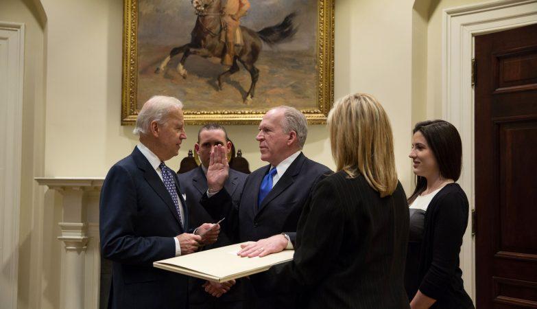 Juramento de John Brennan como Director da CIA, 2013