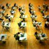 35% chumbaram na prova de avaliação docente (11%, outra vez)