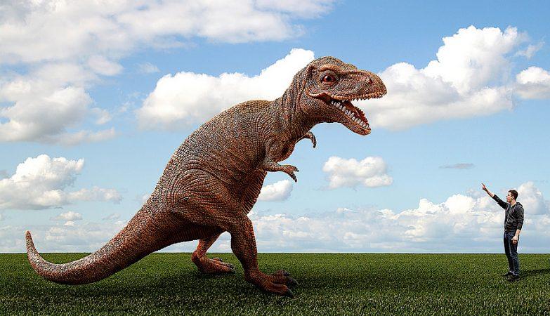 """Se o asteróide não tivesse atingido a Terra naquele momento histórico, os dinossauros poderiam andar entre nós - excepto que não haveria um """"nós""""."""