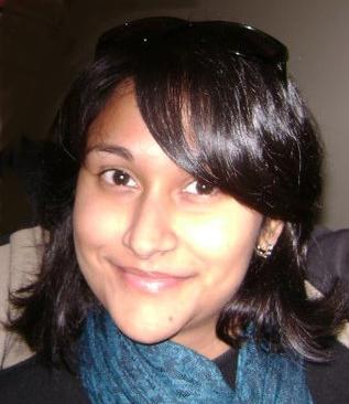 A astrónoma Arpita Roy, autora principal do estudo que revelou o mistério da face oculta da Lua