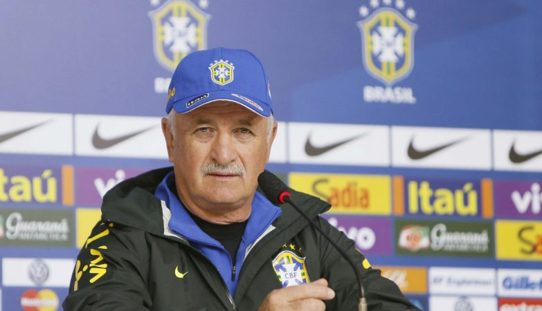Luiz Felipe Scolari, ex-treinador da seleção do Brasil