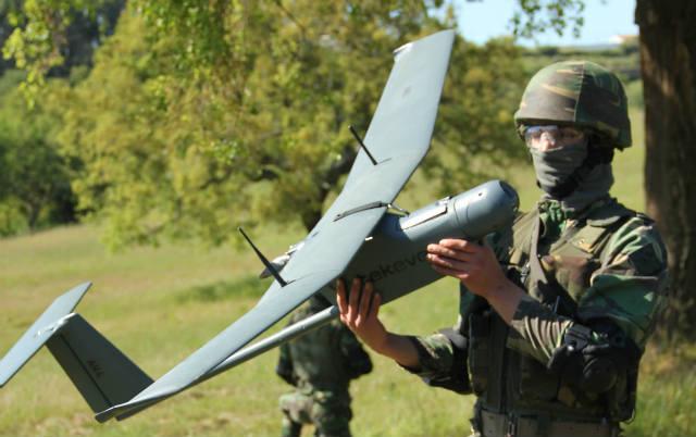 AR4 Light Ray, anterior drone desenvolvido pela empresa portuguesa de aeronáutica Tekever, foi utilizado em maio pela NATO na missão KFOR no Kosovo.