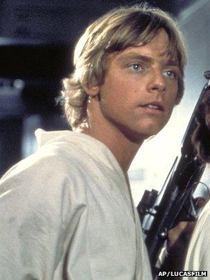 Mark Hamill interpreta Luke Skywalker na mítica trilogia
