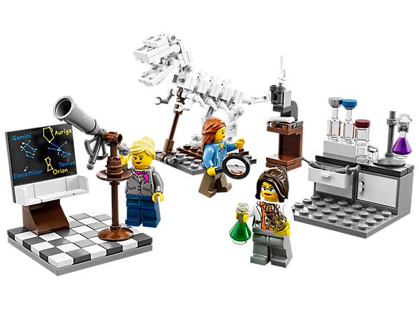 A coleção LEGO Research Institute
