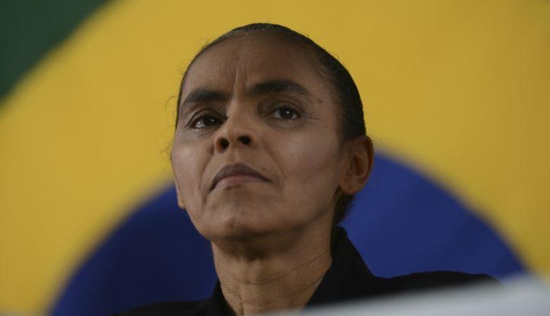 Marina Silva, segundo nome da lista encabeçada por Eduardo Campos para as eleições presidenciais no Brasil