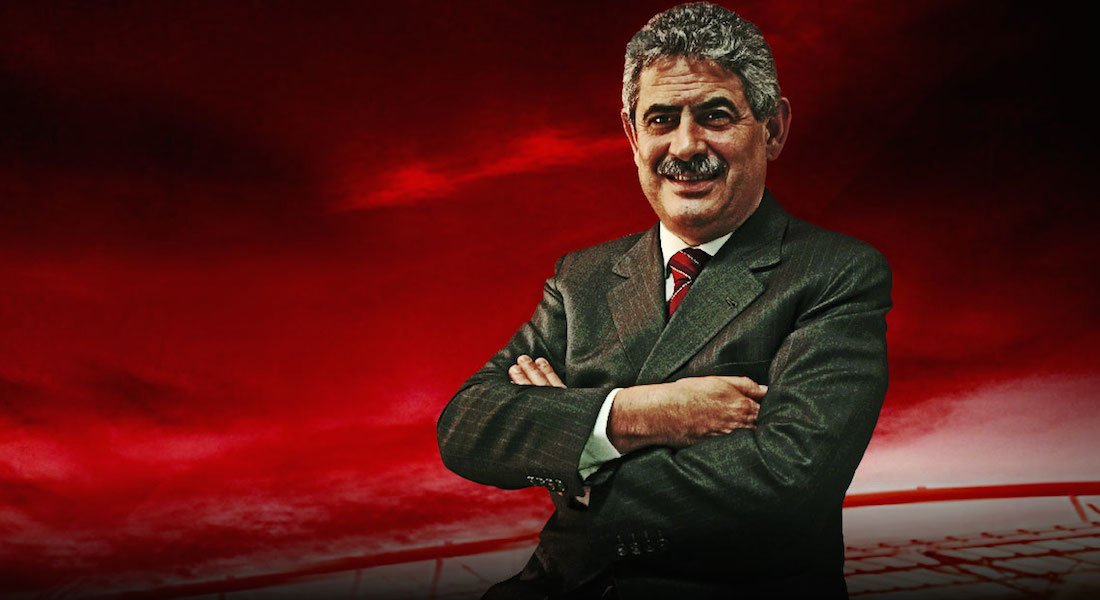Luís Filipe Vieira, presidente do S.L.Benfica