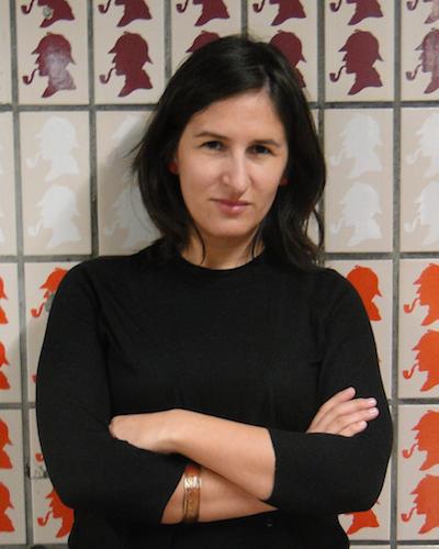 A antropóloga Cláudia Pereira