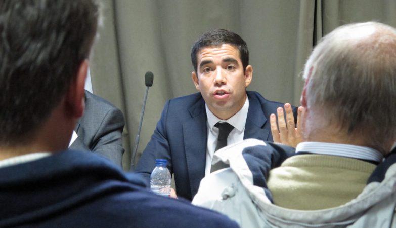O ex-secretário de Estado da Administração Local, António Leitão Amaro
