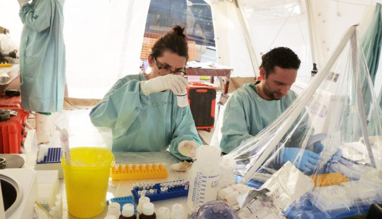 Combate ao Ébola na África Ocidental