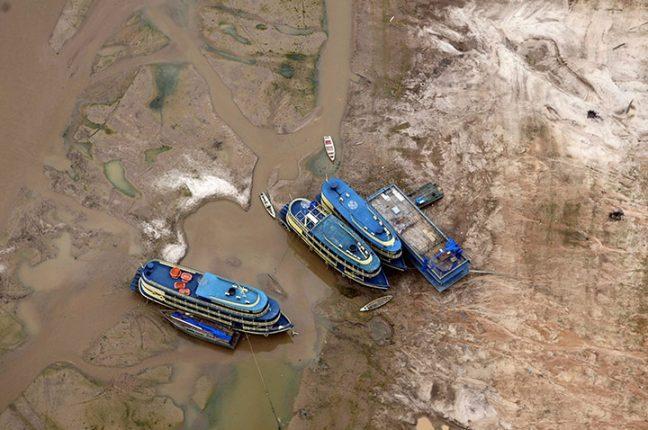 Efeitos da seca na Amazónia, Brasil