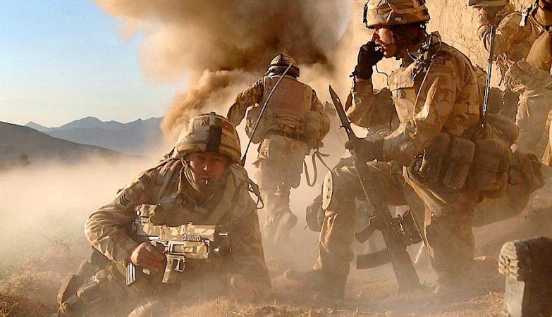 Royal Marines britânicos no Afeganistão